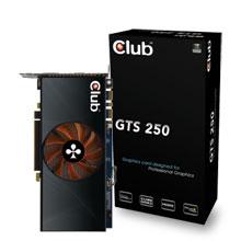CLUB3D GTS 250 GDDR3