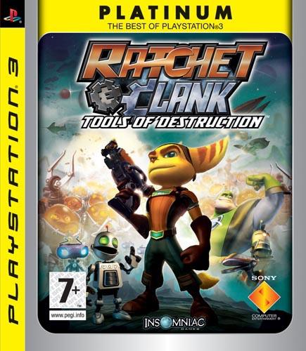 Sony Ratchet & Clank: Tools of Destruction Platinum PlayStation 3 videogioco