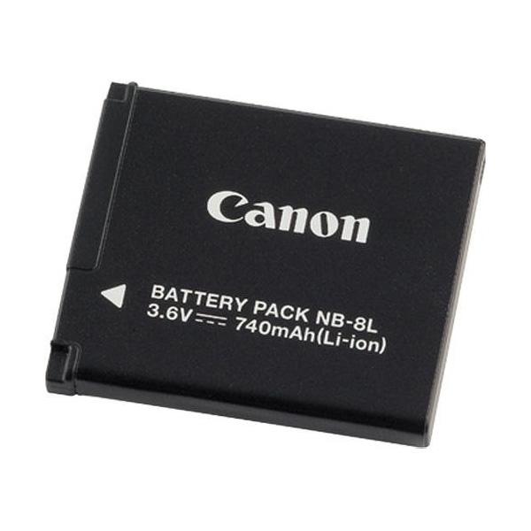 Canon NB-8L Ioni di Litio 740mAh 3.6V batteria ricaricabile