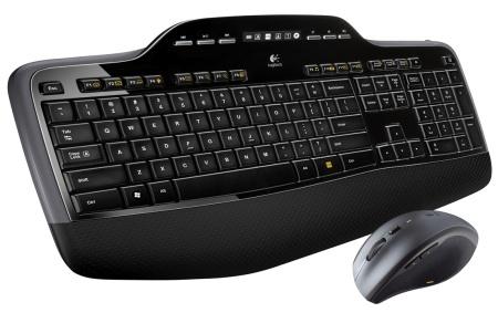 Logitech MK710 RF Wireless AZERTY Francese Nero tastiera