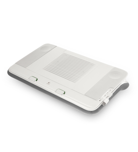 Logitech Speaker Lapdesk N700 Bianco