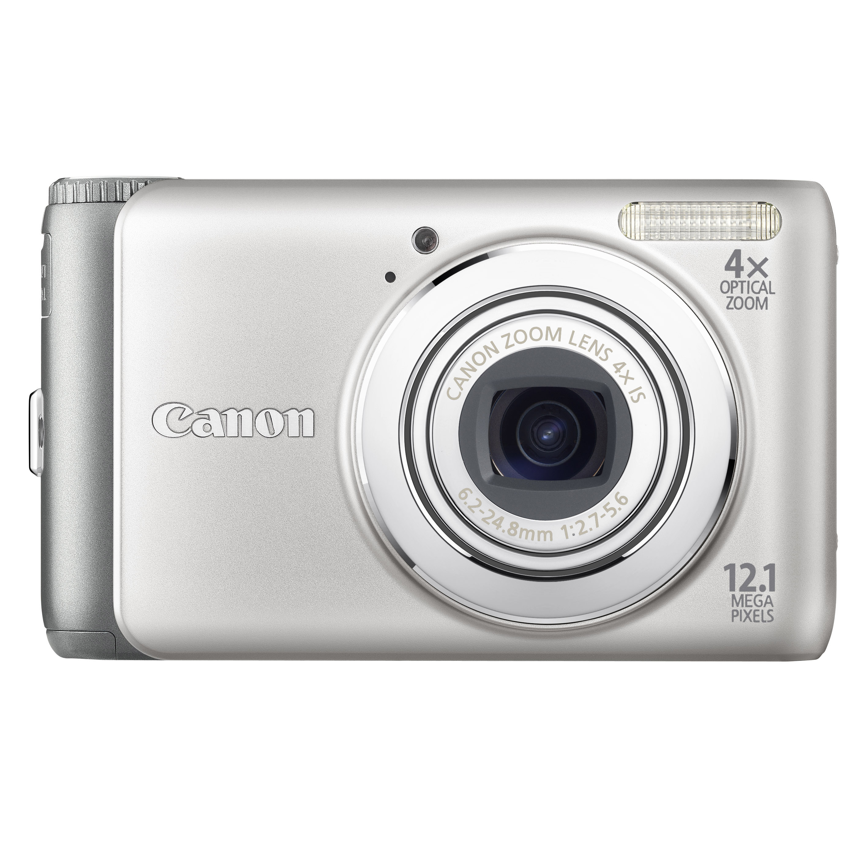 """Canon PowerShot A3100 IS Fotocamera compatta 12.1MP 1/2.3"""" CCD 4000 x 3000Pixel Argento"""