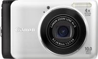 """Canon PowerShot A3000 IS Fotocamera compatta 10MP 1/2.3"""" CCD 3648 x 2736Pixel Nero, Bianco"""
