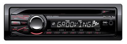 Sony CDX-GT240 180W Nero autoradio
