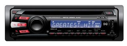 Sony CDX-GT35U 180W Nero autoradio
