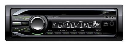 Sony CDX-GT242 180W Nero autoradio