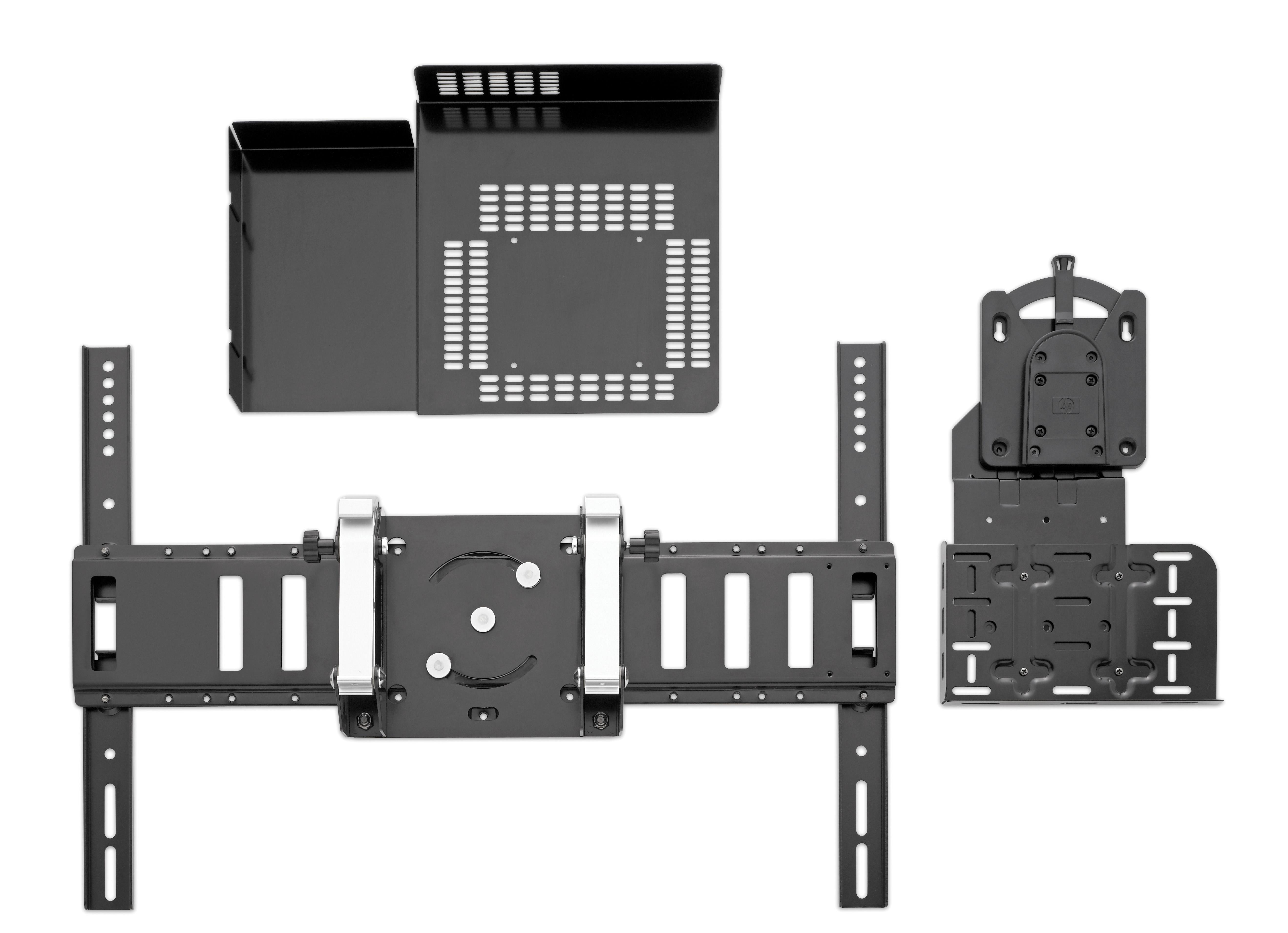 HP WB975AA Nero supporto da parete per tv a schermo piatto