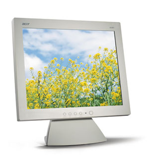 "Acer 18IN TFT 18"" monitor piatto per PC"