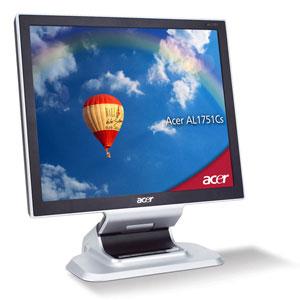 """Acer AL1751Cs 17"""" monitor piatto per PC"""