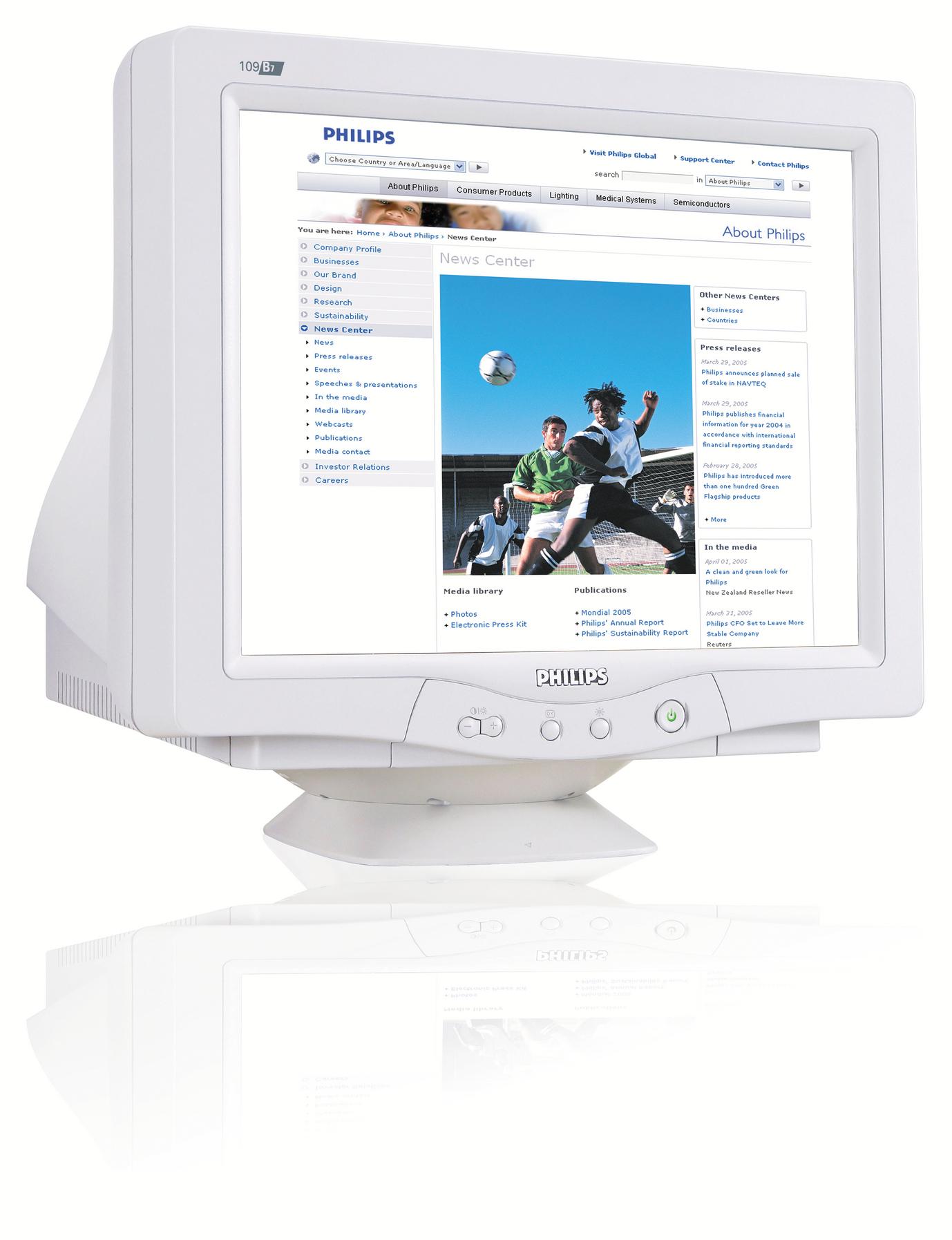 Philips Monitor CRT 109B70/00