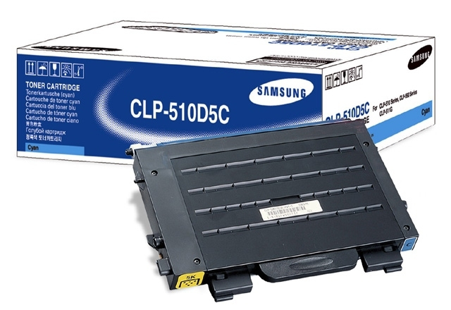 Samsung CLP-510D5C 5000pagine Ciano