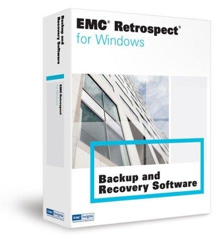 EMC Retrospect 7.5 User Initiated Restore + 1yr Support & Maintenance