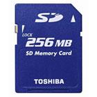 Toshiba 256MB SD memory