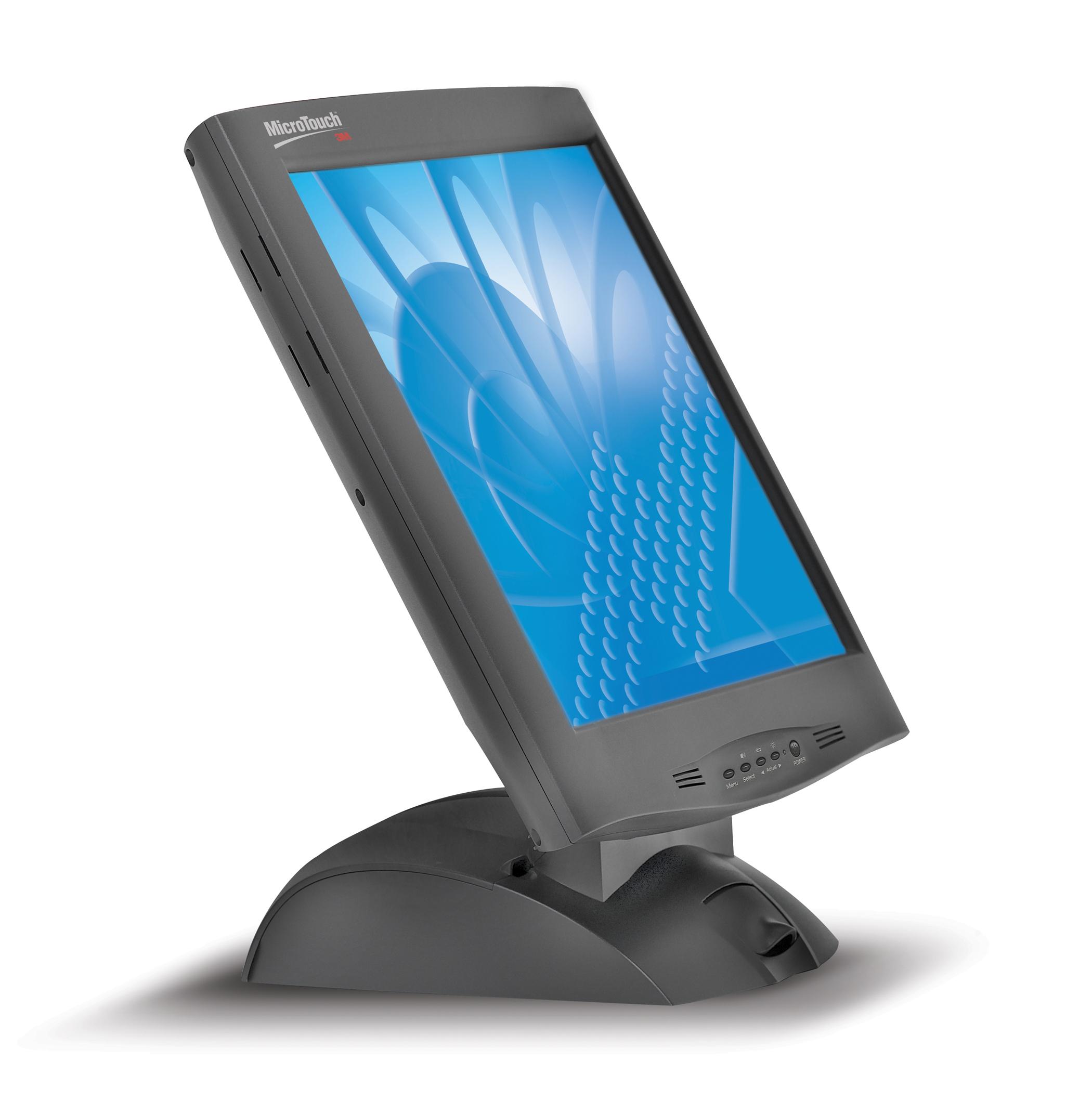 """3M 3MLCDM170CB 17"""" Nero monitor piatto per PC"""