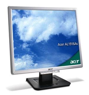 """Acer AL1916As 19"""" monitor piatto per PC"""