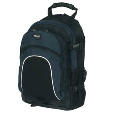 "Targus Sprint Backpac nylon blue 15"" Zaino"