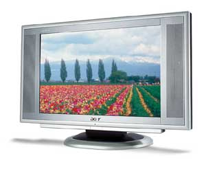 "Acer 17IN AL1751W WIDE-TFT LCD 17"" monitor piatto per PC"