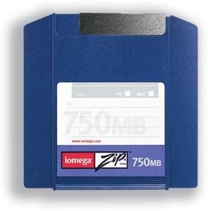 Iomega Zip Disk 750MB 750MB disco zip