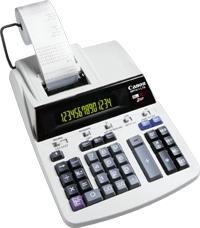 Canon MP 1411-LTS Scrivania Calcolatrice con stampa Bianco