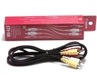 Canon Stereo Video Cable STV-150 1.5m RCA Nero cavo video composito