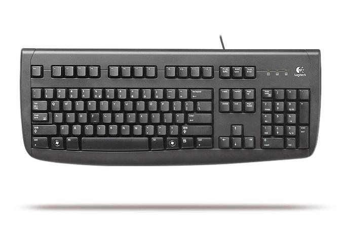 Logitech Deluxe 250 USB USB Nero tastiera