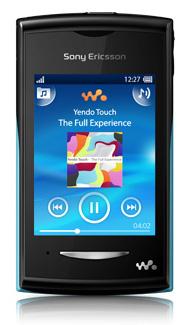 Sony Yendo 1241-8087 SIM singola Nero smartphone