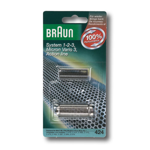 Braun Combipack 424