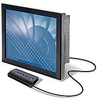 """3M CT150 15"""" LCD Enclosure Monitor 15"""" Nero monitor piatto per PC"""