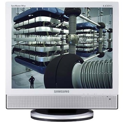 "Samsung SyncMaster 741MP 17"" Argento monitor piatto per PC"