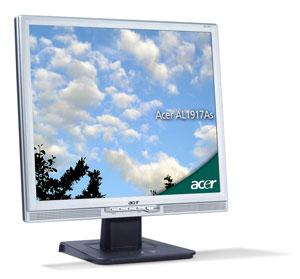 """Acer AL1917Fsd 19"""" LCD 19"""" Argento monitor piatto per PC"""