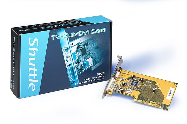 Shuttle TV/Out Card / DVI f XPC Interno scheda di acquisizione video