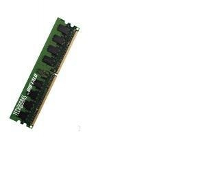 Buffalo 400MHz, PC3200 Unbuffered x64 Non-ECC, 184 Pin (DD4002-S512/BJ) 0.5GB DDR 400MHz memoria