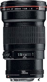 Canon EF 200mm f/2.8L II USM SLR Telephoto lens Nero