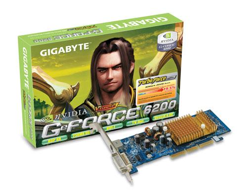 Gigabyte GV-N62256DP2-RH GeForce 6200 GDDR2 scheda video