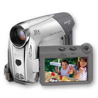 Canon MD130 Camcorder 0.8MP Argento