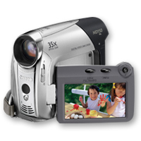 Canon MD150 Camcorder 1.07MP Nero, Argento