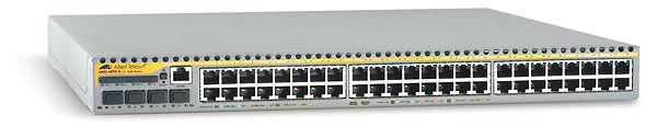 Allied Telesis NEBS-Compliant 10/100TX x 48 ports managed FE L3 Switch Gestito L3 Bianco