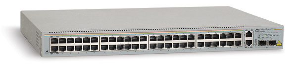 Allied Telesis 48 x 10/100TX + 2 10/100/1000T & 2 SFP Web Smart Switch Gestito