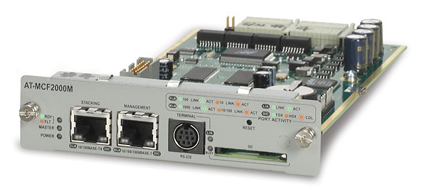 Allied Telesis SNMP Managment Module f/ AT-MCF2000 componente switch