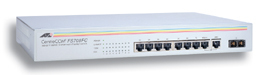 Allied Telesis 10/100TX x 8 ports Unmanaged Fast Ethernet Switch +1 100FX No gestito