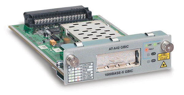 Allied Telesis Uplink module with 1 GBIC bay Interno 1Gbit/s componente switch