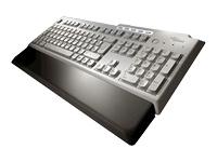 Fujitsu Keyboard PX KBPC USB (AR/FR) USB Grigio tastiera
