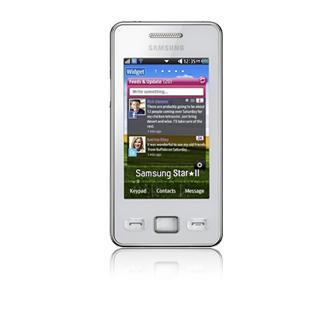 """Samsung GT-S5260 4"""" 94g Argento"""