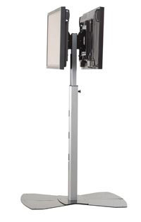 Chief Dual Display Floor stand Argento