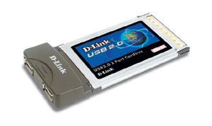 D-Link USB 2.0 CardBus Adapter scheda di rete e adattatore