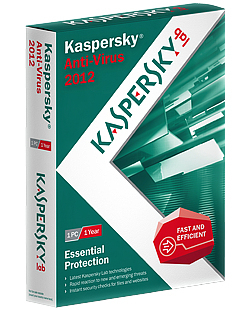 Kaspersky Lab Anti-Virus 2012, 1u, 1y