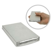 "Macally Storage Enclosure External 2.5"" Alimentazione USB Argento"