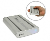 "Macally FireWire External Enclosure 2.5"" Argento"