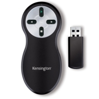 Kensington Wireless Presenter Nero, Argento puntatore wireless