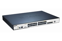 D-Link DGS-3120-24PC Gestito L2+ Supporto Power over Ethernet (PoE) switch di rete